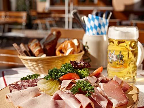 Biergarten Brotzeit