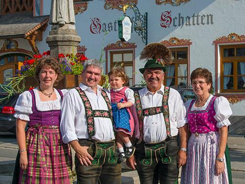 Hotel Und Gasthof Schatten In Garmisch Partenkirchen